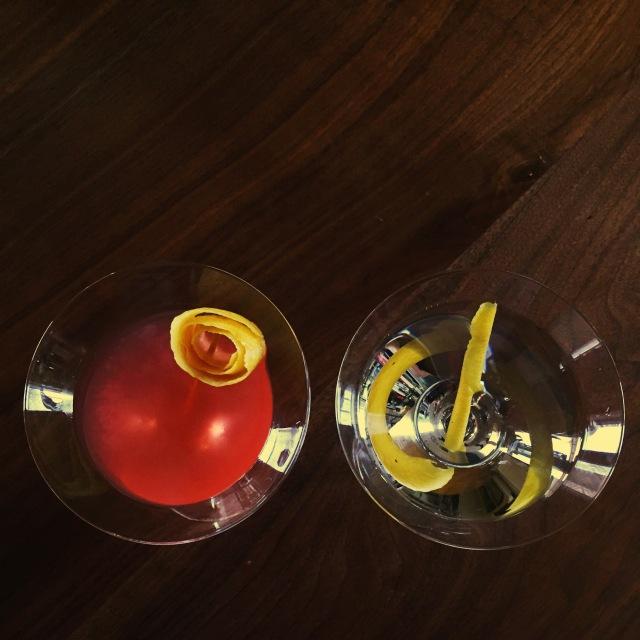 The Jasmine and the Vesper Martini
